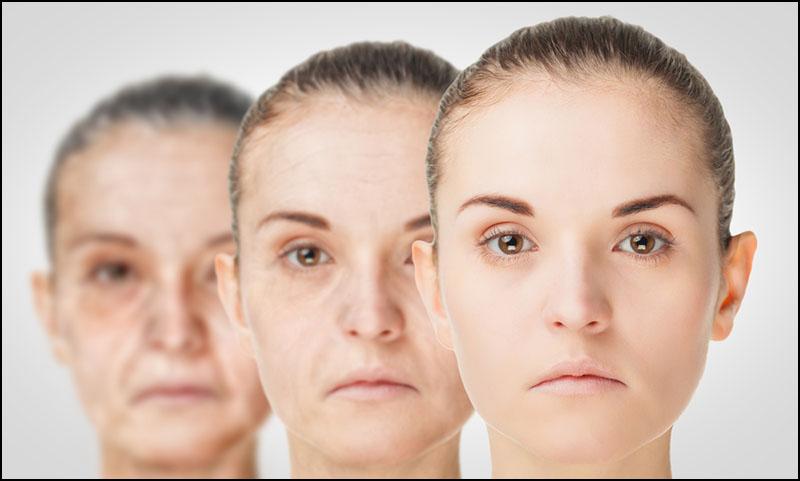 紫外線によって起こるお肌の老化現象